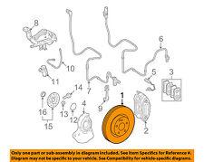 MERCEDES OEM 08-14 CL63 AMG Front Brake-Disc Rotor 2214211312