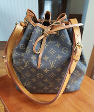 Authentic Louis Vuitton Petit Noe Bucket Bag