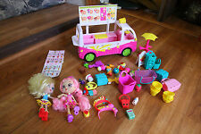 Shopkins Scoops Ice Cream Truck w/ Figures & Accessories Bubbleisha Moose Toys