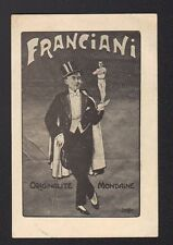 ARTISTE / FRANCIANI , Originalité Mondaine , ATHLETE de CABARET / CIRQUE