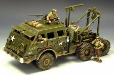 "King & Country DD104(SL) WWII M26 Armoured Recovery Vehicle D-Day ""Dragon Wagon"""