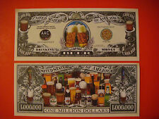 The Greatest Drink on Earth: BEER ~ $1,000,000 One Million Dollar Drinking Money