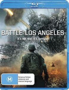 Battle - Los Angeles  (Blu-ray, 2011)  Aaron Eckhart  (Brand New)