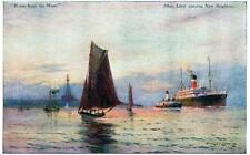 Liverpool Magic of Mersey Shipping  Sam J M Brown Home from West old pc