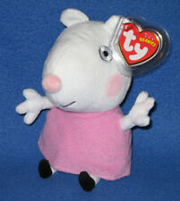 Ty Suzy Sheep (Uk Exclusive - Peppa Pig) - Mint with Mint Tags
