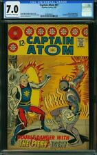 Captain Atom #87 CGC 7.0 -- 1967 -- Charlton. Ditko. Nightshade. #2036496021