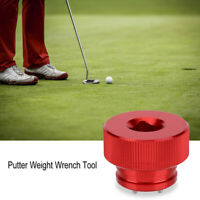 Red Round Screw Wrench Weight Spanner Tool For Scotty Cameron Putters Red