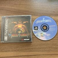 Mortal Kombat 4 Sony Playstation One PS1 Complete CIB Black Label