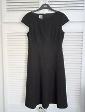 😊 Anne Klein Designer Black size 16 Fit And Flare A-line Stretch Dress