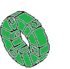 KOMATSU WHEEL LOADER HYDRAULIC PUMP COUPLING 20T-01-31110 WA20-2 WA30-5 WA40-3