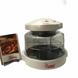 Nuwave Infrared Convection Oven Analog Model 20221 White with Cookbook