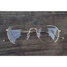 1920s Trend eyeglasses oliver retro 20R50 Gold round frames eyewear rubyruby