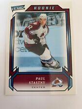 06/07 UD Victory Rookie Paul Stastny Hockey Card #294
