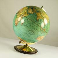 Dujardin Erd Globus Columbus Hausbar Ø 33cm Vintage Globe Bar 50er 60er