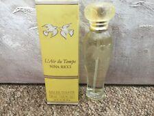 Vintage Bnib New Nina Ricci L'air Du Temps Eau De Toilette Spray 30ml
