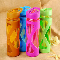 1L PLASTIC SPORT WATER BOTTLE SPACE FRUIT INFUSER DRINKING JAR CONTAINER ORNATE