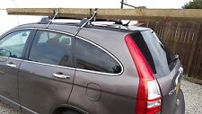 TYPHOON 44cm CAR ROOF RACK BAR PADS & 3 METRE TIES FOR LADDERS LUGGAGE SURFBOARD