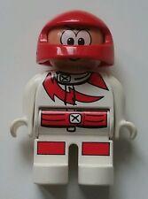 Lego Duplo Action Wheelers Toolo / 2904 Ersatzteil Mänchen / Rennfahrer