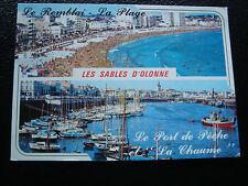 FRANCIA - cartolina 1992 sabbia d olonne (cy62) french