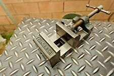 PALMGREN Drill Press Vise,2-1/2'' V Grooved Jaw Milling Machine Machinist Vice