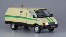 """1:43 GAZ-3302 """"Ratnik"""" Collector Car, UDSSR, USSR + Magazine #14 De Agostini"""