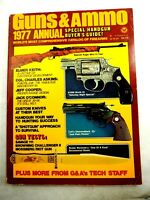 Guns & Ammo 1977 Annual (Special Handgun Buyers Guide!)