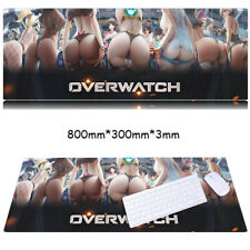 Overwatch Computer Keyboard Gaming Mouse Pad Office Laptop Desk 80cm*30cm*3mm