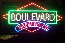 "New Boulevard Brewing Co Beer Bar Decor Artwork Neon Sign 24""x20"""