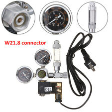 220V Aquarium CO2 Regulator Check Valve Bubble Counter Magnetic Solenoid W21.8