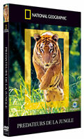 National Geographic, Les prédateurs de la jungle DVD NEUF SOUS BLISTER Tigres...