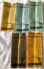 5 CHICAGO IL WLS 890 RADIO SILVER DOLLAR MUSIC SURVEY-AUGUST SEPTEMBER 1964