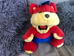 Werebear / Were-Bear  'Fang' Soft Plush Toy Retro/Vintage 1983 10'' tall