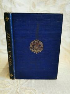 Antique Book French Poetry An Anthology For Schools, By F. M. Forrest - 1935