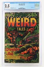 Blue Bolt #118 - CGC 2.5 GD+ Star 1953 - Weird Tales - L.B. Cole cover!
