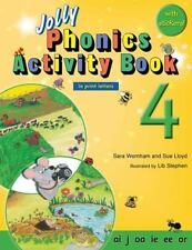 Jolly Phonics Activity Book 4 (in Print Letters) by Sara Wernham and Sue...
