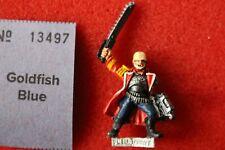 Games Workshop Warhammer 40k Praetorian Lieutenant Commissar Painted Metal GW