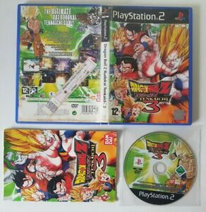 Dragon Ball Z: Budokai Tenkaichi 3 |SONY PLAYSTATION 2 |PS2|[PAL]|* GOKU* VEGETA