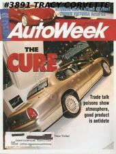 January 20 1992 Autoweek 1936 Stout Scarab Hyundai HCD-1 Crown Victoria NAIAS