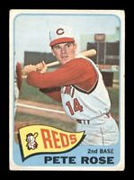 1965 Topps Set Break # 207 Pete Rose GD *OBGcards*
