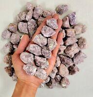 Raw Lepidolite Crystals - Raw Crystals Bulk - Rough Gemstones Wholesale