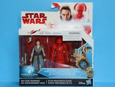 STAR WARS THE LAST JEDI Force Link Rey & Elite Praetorian Guard 2 Pack 3.75 inch