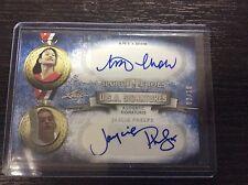 2013 Leaf Sports Heroes Amy Chow / Jaycie Phelps Sliver 2/10 Autograph Auto USA