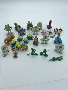 25 PCS Toy Story Woody Lightyear Alien Buzz Figure Cake Topper Toy