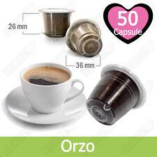 50 Capsule Caffè Kickkick Gusto Orzo Cialde Compatibili NESPRESSO