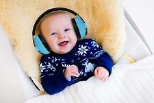 Child Baby Ear Muff Hearing Protection Kids Noise Cancelling Headphones Blue