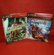 New PS3 Uncharted Lot! Drake's Fortune & Among Thieves (Playstation 3 2007/2010)