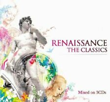 RENAISSANCE: THE CLASSICS various (3X CD) breakbeat house progressive trance