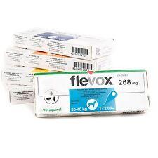 3 pipetas Flevox para perros de 20 a 40 Kg, idénticas a las frontline