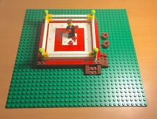 Lego MOC Boxing Ring / Arena With Baseplate,fighting talk Presenter Mini Figure