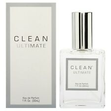 * CLEAN ULTIMATE for WOMEN by FUSION * 1.0 oz (30 ml) EDP Spray * NEW in BOX